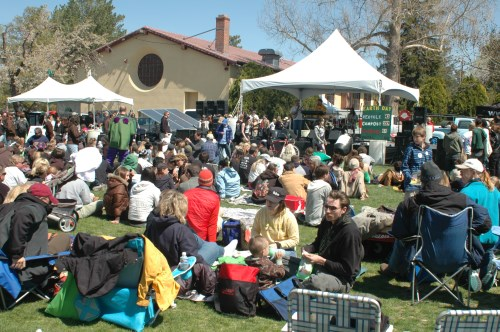 Earth Day at Idlewild Park in Reno, Nevada