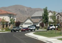 Radon gas hazard in the Reno area