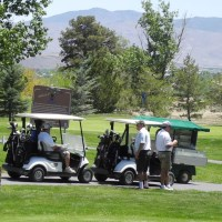 Barracuda Championship PGA golf tournament, Reno, Nevada, NV