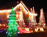Reno area Christmas lights displays