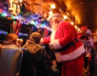 Polar Express on the Virginia and Truckee Railroad
