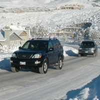 Winter driving, snow removal, Reno, Nevada, NV