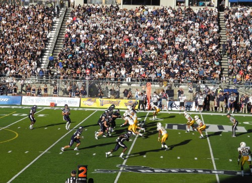 Nevada Wolf Pack football games at Mackay Stadium