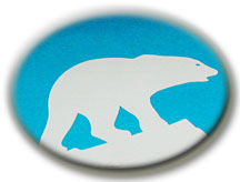 Polar bear, symbol of the Northwest Territories