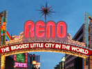 Reno Arch Nevada Virginia Street downtown