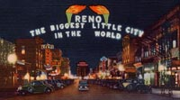 Reno Arch Nevada Biggest Little City in the World