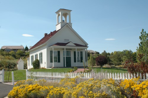 Historic Huffaker School at Bartley Ranch Regional Park, Reno, Nevada, NV