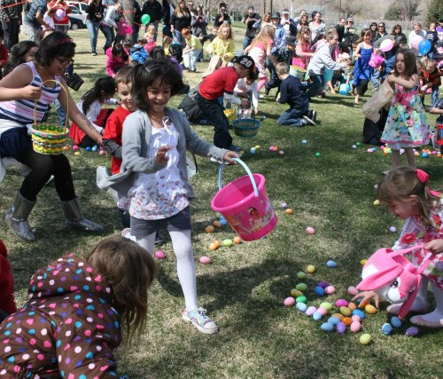 Easter egg hunts in the Reno area, Nevada