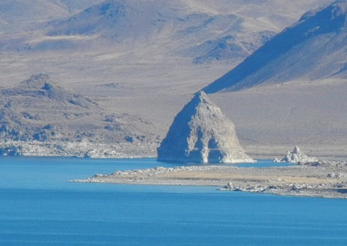 The Pyramid of Pyramid Lake, Nevada, NV