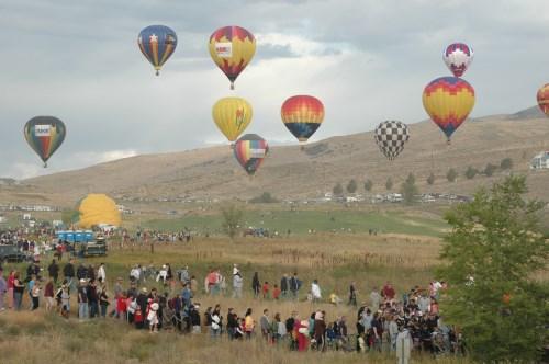 Great Reno Balloon Race in Reno, Nevada