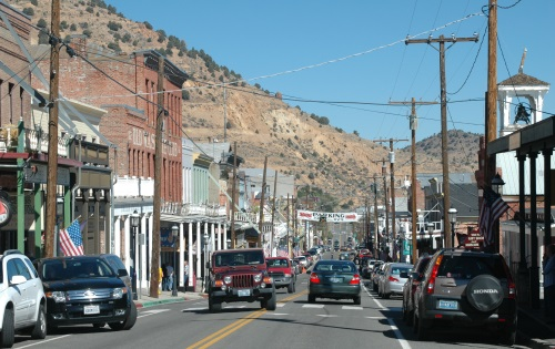 Virginia City, Nevada, C Street, Downtown