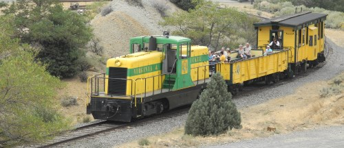 Virginia and Truckee Railroad excursion train